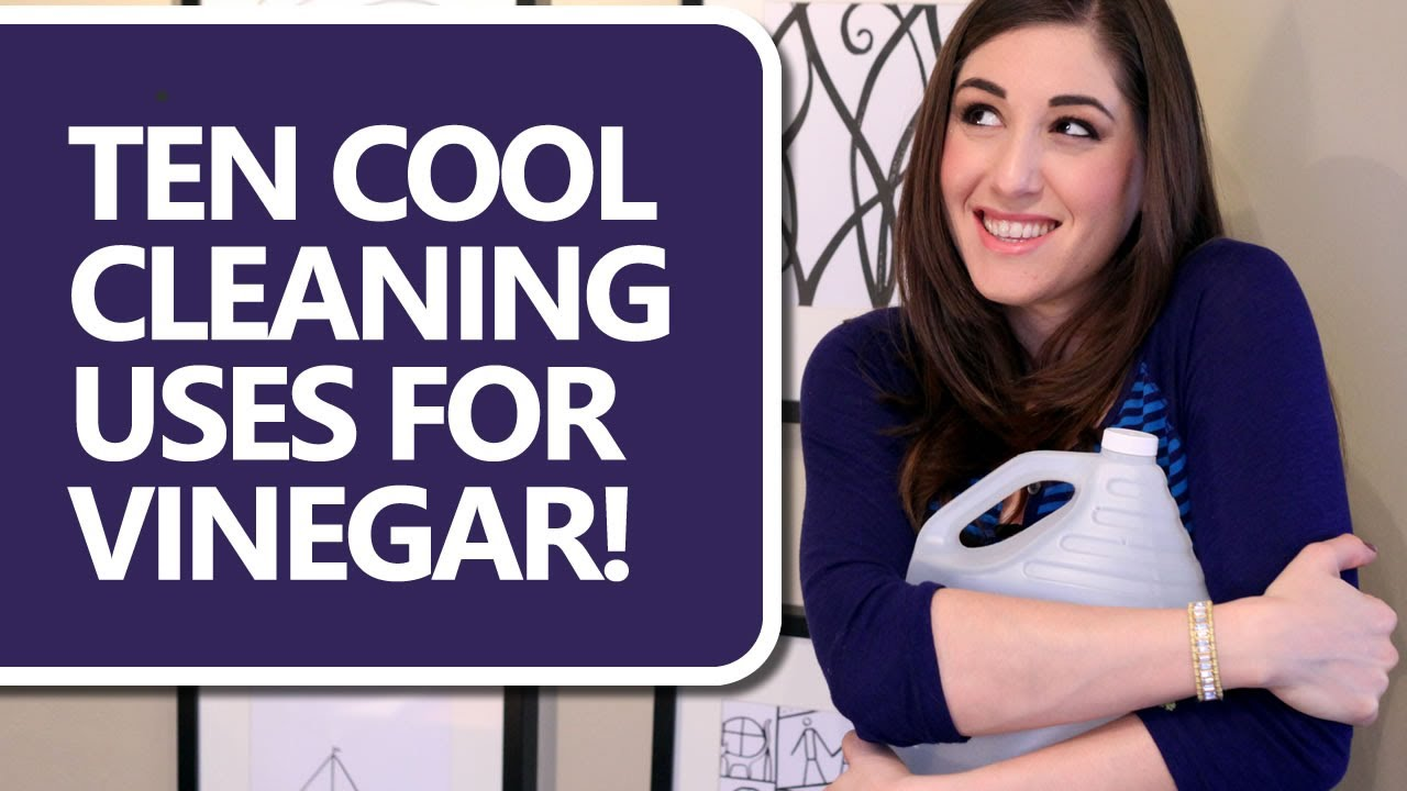 10 Cool Cleaning Uses for Vinegar! - Clean My Space