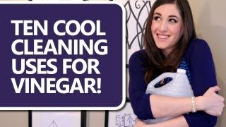 10 Ways To Clean With Vinegar! (clean My Space)