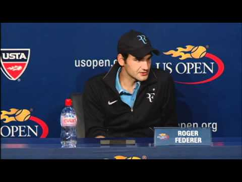2010 US Open Press Conferences: Roger Federer (Semifinals)