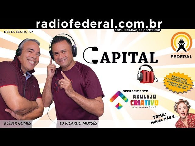 NO AR CAPITAL DJ - 07/05/2021 - Dia das Mamis