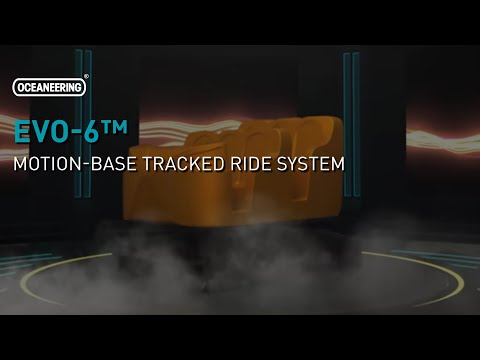 EVO-6™ Motion-Base Tracked Ride System | Oceaneering