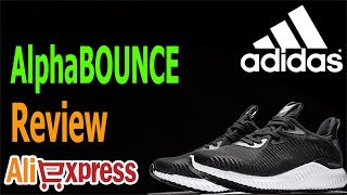 Adidas AlphaBOUNCE Running Shoes promo #AliAdict