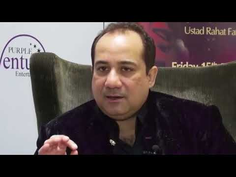Mere Rashke Qamar - Without Music - Rahat Fateh Ali Khan Live
