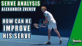 Alexander Zverev Serve Analysis: Tennis Serve Lesson