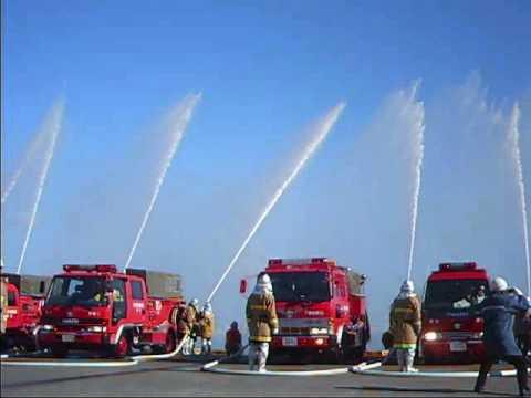 2009年 出初め式 いすゞ 消防車 ...