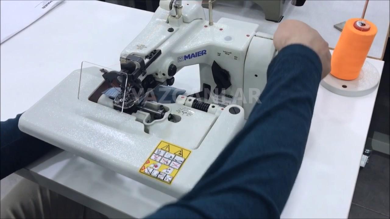 PAÇA BASKISI/GİZLİ DİKİŞ-PAÇA MAKİNASI #makinalar #sewingmachine