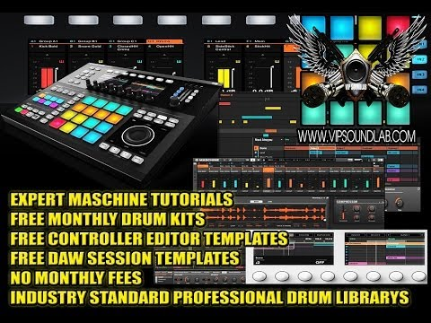 N.I. Maschine Tutorial   MAPPING SOUNDS, TRIGGERING SCENES & PATTERNS