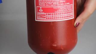 видео Огнетушитель углекислотный ОУ-5 Ярпож