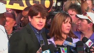 Gambar cover Rod Blagojevich says 'bye' before going to prison