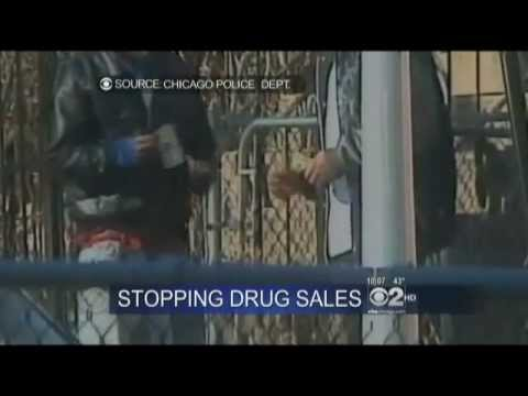 A Police operation shuts down two open air drug markets