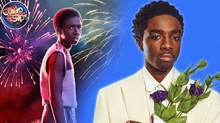 Caleb McLaughlin Dropping Stranger Things For College?!
