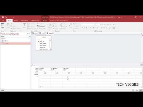 Creating Queries using Text Criteria in MS Access | Tech Veggies