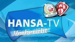 Hansa-TV-Vorbericht zum Heimspiel gegen die Würzburger Kickers