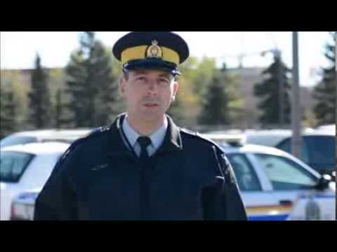 A message of thanks from RCMP in Saskatchewan