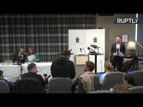 Swedish prosecutor holds press conference to announce decision on Assange rape investigation