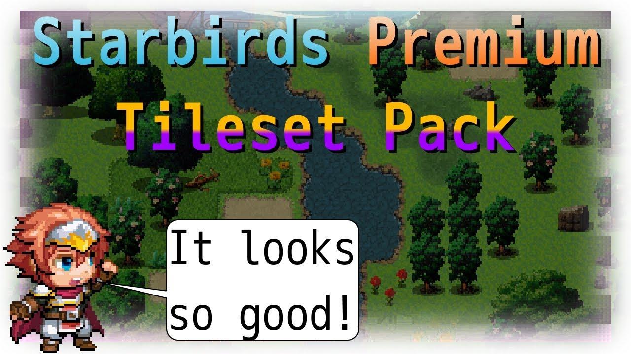 Starbirds Premium Tileset Pack for RPG Maker MV