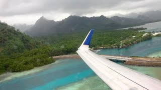 6 Takeoffs & Landings United Airlines Island Hopper - Honolulu to Guam