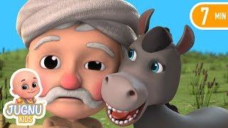 Dhobi aur Gadha |The Donkey and the Dhobi | Hindi Stories | Stories for kids  by Jugnu Kids