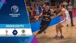 Last Second Thriller  LDLC ASVEL Feminin - Fenerbahce Oznur Kablo  Highlights - EuroLeague Women