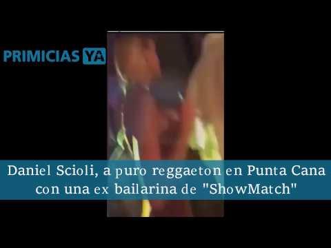 Daniel Scioli disfruta de Punta Cana con una ex bailarina de ShowMatch