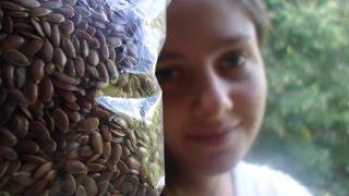 Семя Льна🌸 - Супер Продукт🌸 Как Употреблять Лён, Сыроедение🌿