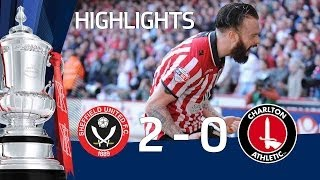 SHEFFIELD UNITED VS CHARLTON ATHLETIC 2-0: Official goals and highlights FA Cup Sixth Round HD(A dream two minutes of drama at Bramall blew Charlton Athletic away and sent Sheffield United into The FA Cup Semi-Final. Second-half goals from Ryan Flynn ..., 2014-03-10T12:02:05.000Z)