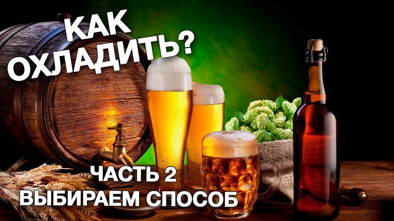 Охлаждение пива. Часть 2. Выбор способа. Научный подход.