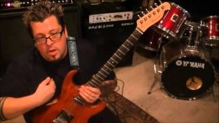 How to play Self Control by Laura Branigan on guitar by Mike Gross