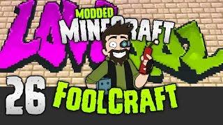 Minecraft: FOOLCRAFT | The GRAFFITI TROLL 🎨 | #26 | Modded Minecraft