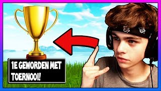 EERSTE WORDEN MET YOUTUBERS TOERNOOI? FORTNITE BATTLE ROYALE | NEDERLANDS