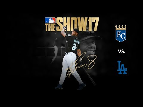 MLB The Show 17: 7/8/2017 - KC vs. LAD **Game 90**
