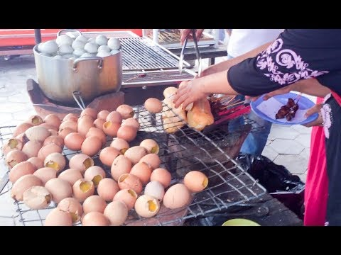 Asian Street Food - Fast Food Street in Asia, Cambodian food #63