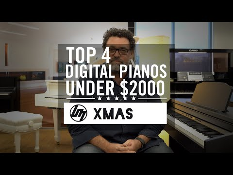 Top 4 Digital Pianos Under $2,000 For Christmas 2019   Better Music