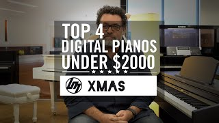 Top 4 Digital Pianos under $2,000 for Christmas 2019 | Better Music