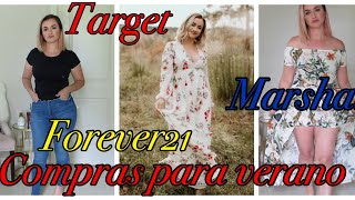 Try-On Haul Target, Marshals, Forever21 Compras de ropa Me pruebo todo!!!!