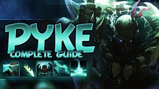 PYKE FULL GUIDE SEASON 8 - Tips, Tricks, Outplays, God Tier -  League Of Legends