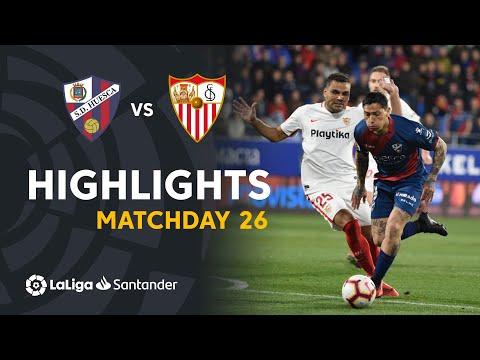 Highlights SD Huesca vs Sevilla FC (2-1)