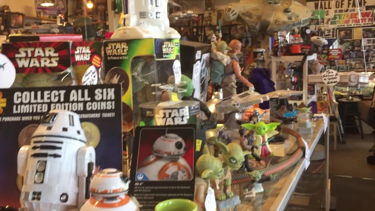 Sucher & Sons Star Wars Shop in Aberdeen WA – Everything and