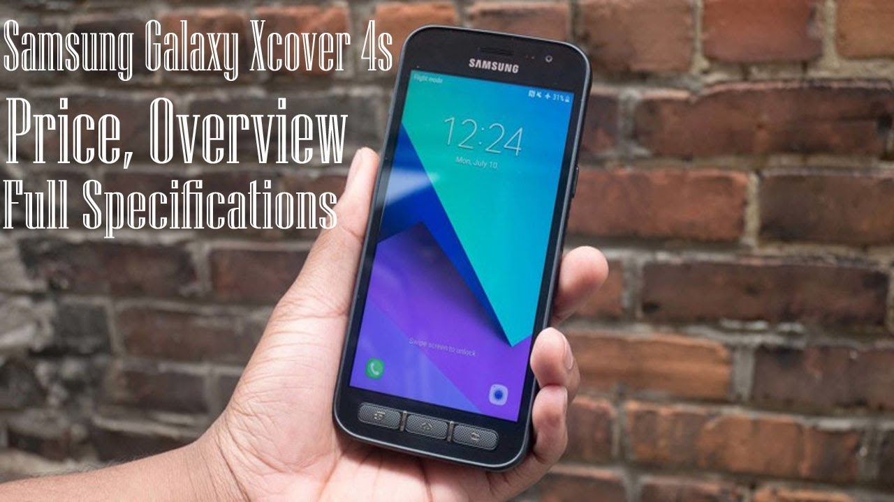 Samsung Galaxy Xcover 4s Price, Overview & Full Specifications