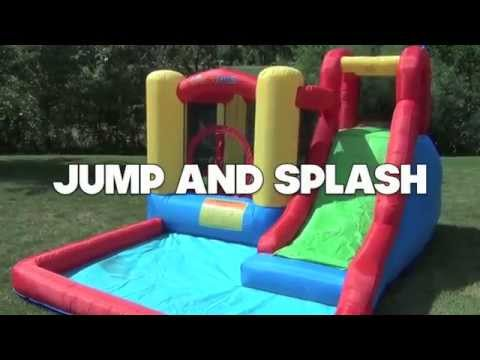 Jump And Splash Bounce House - Jumpy House USA