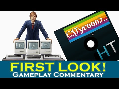 Let's Try: Computer Tycoon - Business Strategy Indie Game - Computer Tycoon Gameplay