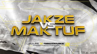 GRAND FINAL | Jakze vs Maktuf | Pulse x Thrustmaster Freestyle Invitational 2
