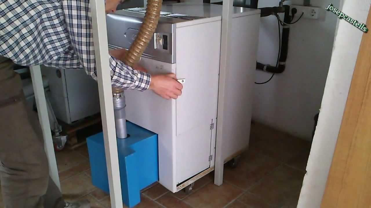 Conversion de una caldera de gasoil a biomasa funnydog tv for Instrucciones caldera roca