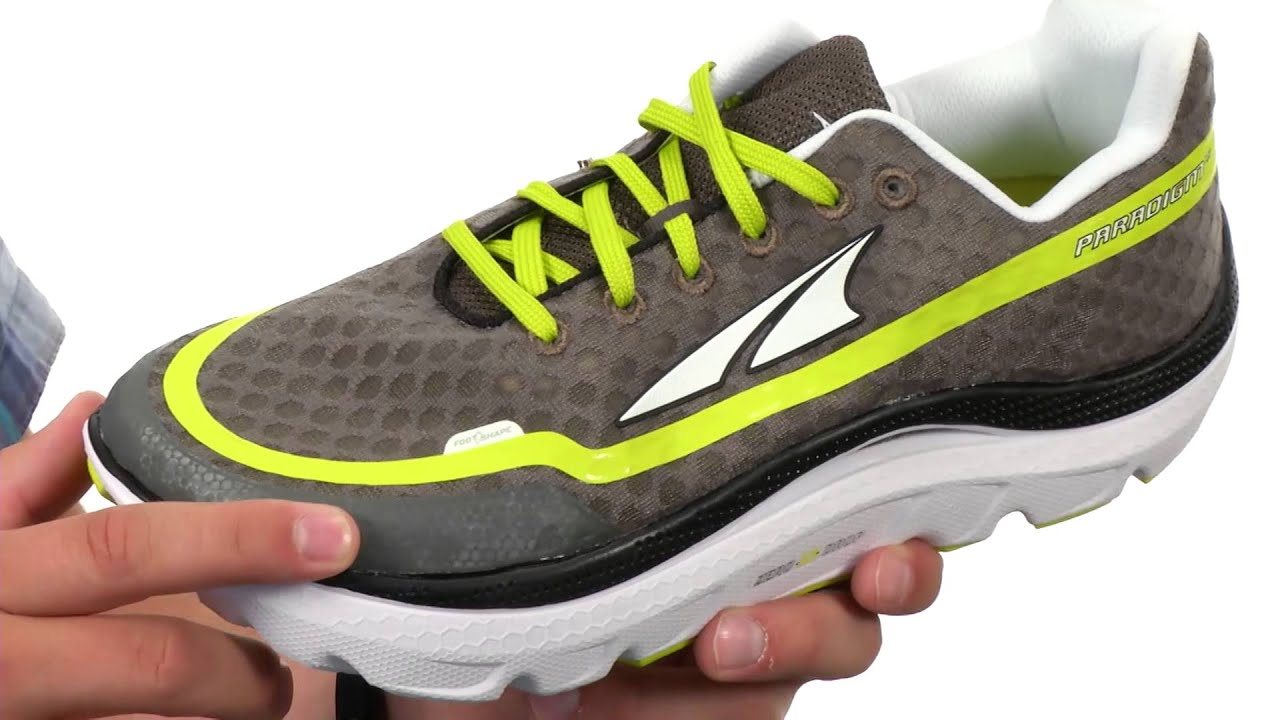 Altra Zero Drop Footwear Paradigm 1 5 Sku 8561353 Youtube