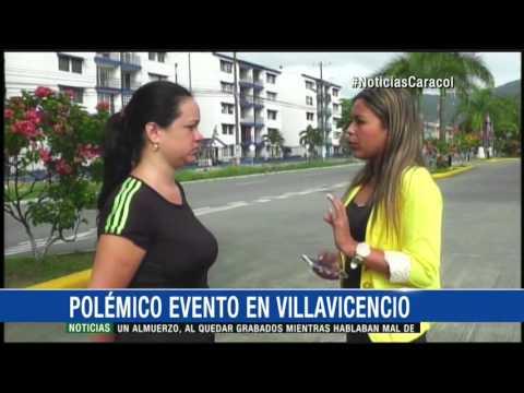 Mujeres semidesnudas desatan polémica en evento infantil en Villavicencio 11 Mayo 2016