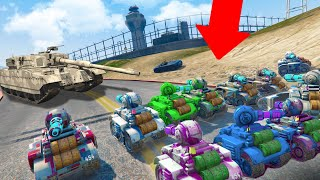 RC TANK ARMY STORMS THE MILITARY BASE! *CRAZY!* | GTA 5 THUG LIFE #311