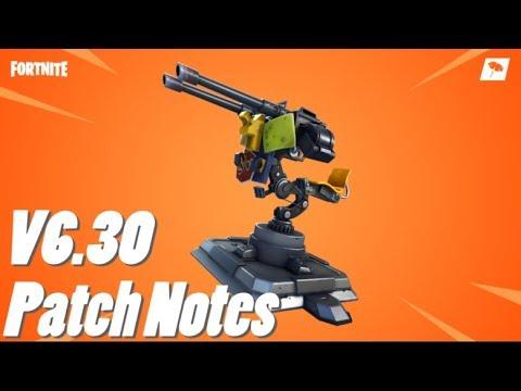 V6.30 Patch Notes! (FORTNITE)