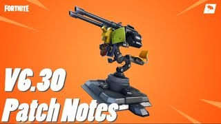 V6.30 Patch Notes! (FORTNITE)