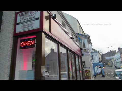 A Walk along Pembroke High Street in Pembrokeshire Wales 2