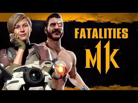 Mortal Kombat 11 - Fatality mais zoeiro do jogo e primeiro gameplay de Cassie Cage e Kano